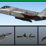Lockheed Martin F-35A Lightning II [AddOn Pack] Custom Weapons \ Missiles 3D 3.0
