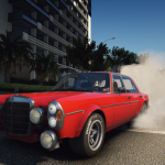 Mercedes-Benz 300 SEL 6.8 AMG RED PIG 1972 [Add-On]