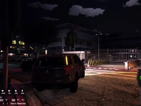 Mission Row PD Exterior & Mission Row East Exterior [Ymap   FiveM Ready] 1.0