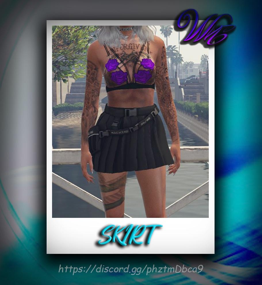 Short Skirt for MP Female 1.0