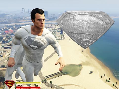 SuperMan God White Suit [Retexture] 1.0 (Normal eyes)