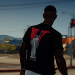 Vlone T-Shirt Pack For MP Male 1.0