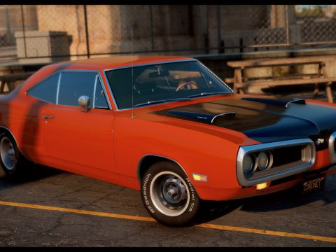 1970 Dodge Coronet Super Bee [Add-On / FiveM | Template | LODs] 1.2a