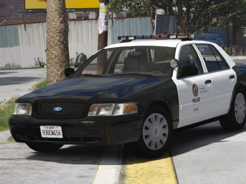 2006 Crown Victoria LAPD [Replace | ELS] (Southland & The Rookie based) 4.6