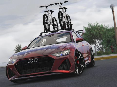 2020 Audi RS6 C8 Avant [Add-On | Extras | Tuning | Template] 1.0