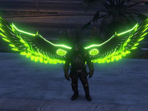 Angel Wings Emissive Retexture pack 1.0