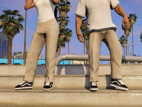 Cropped Pants For MP Male / MP Female 2.0