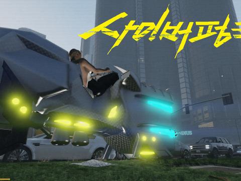 Cyberpunk 2077 Sledgehammer Hoverbike 1.0
