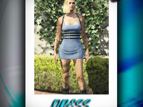 Denim Dress for MP Female [SP / FiveM] 1.0