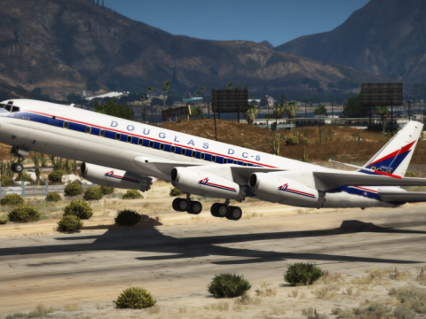 Douglas DC-8 Ultimate Package [Add-On | Package I Tuning I Liveries] 1.1