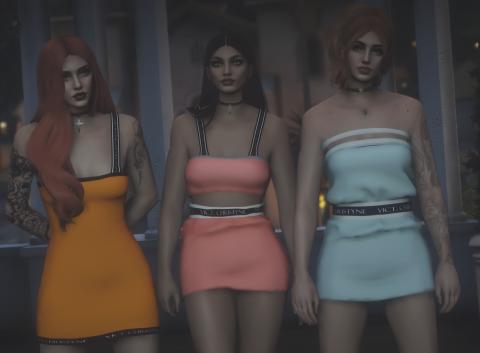 Leather dress MP female. - GTA5-Mods.com