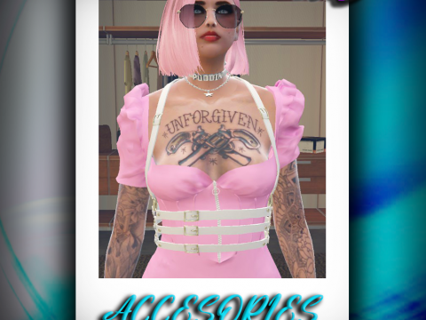 Harness Top for Mp Female [SP / FiveM] 1.0