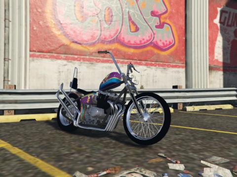 Honda CB750 Chopper [Add-On   Template] 1.2