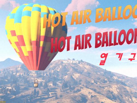 Hot Air Balloon as Blimp 1.0