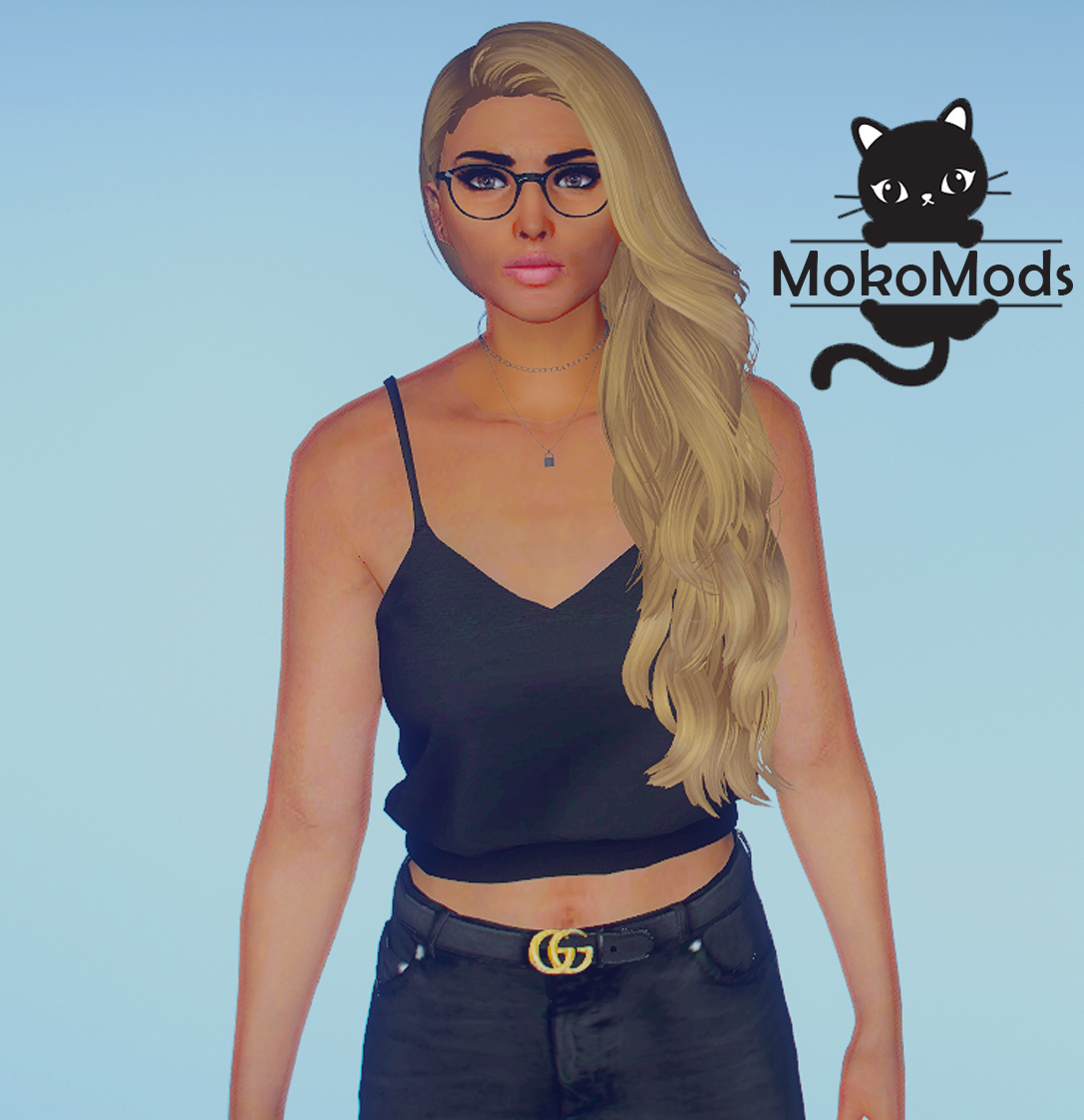 Knot Cropped Top for MP Female 1.0