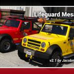 Lifeguard Mesa SWB [Add-On   FiveM Ready   Lore Friendly   Template] 2.1.1