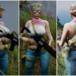 Military Girl [Add-on / Replace] 1.0