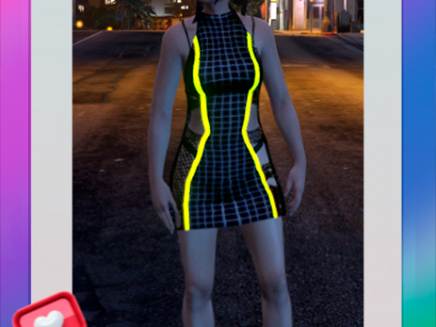 Neon Dress for Female (SP/FIVEM) 1.0