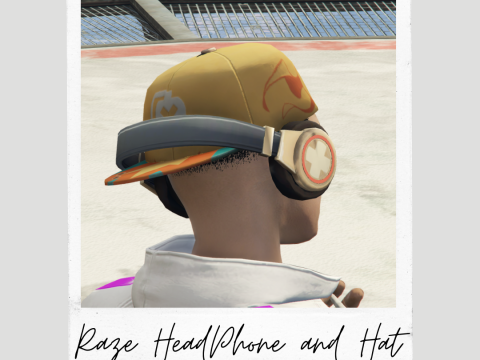 Raze Valorant HeadSet + Hats [Male/Female] 1.0
