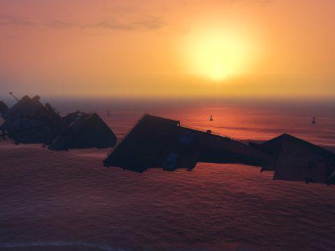 Run aground and sunken ship v1.0