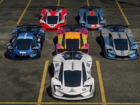 San Andreas Motorsport - Track Cars (Overhaul) [Menyoo] 8.0