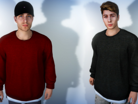 Sweater For MP Male 1.0