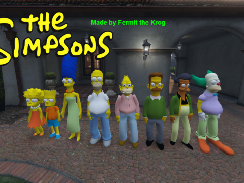 The Simpsons Pack [Add-On Peds] 2.0