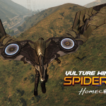 Vulture Wings (spiderman home coming) [Addon] 1.0