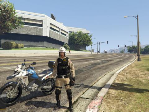 Skin PMMG patrulha de moto 3.0