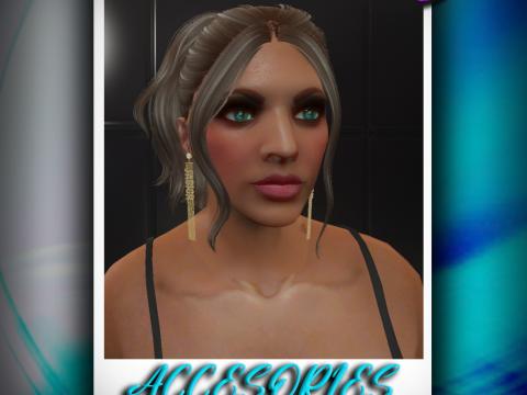 Earrings J`Adore for MP Female 1.0