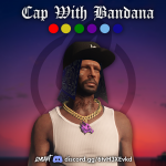 Cap With Bandana for MP Male V1