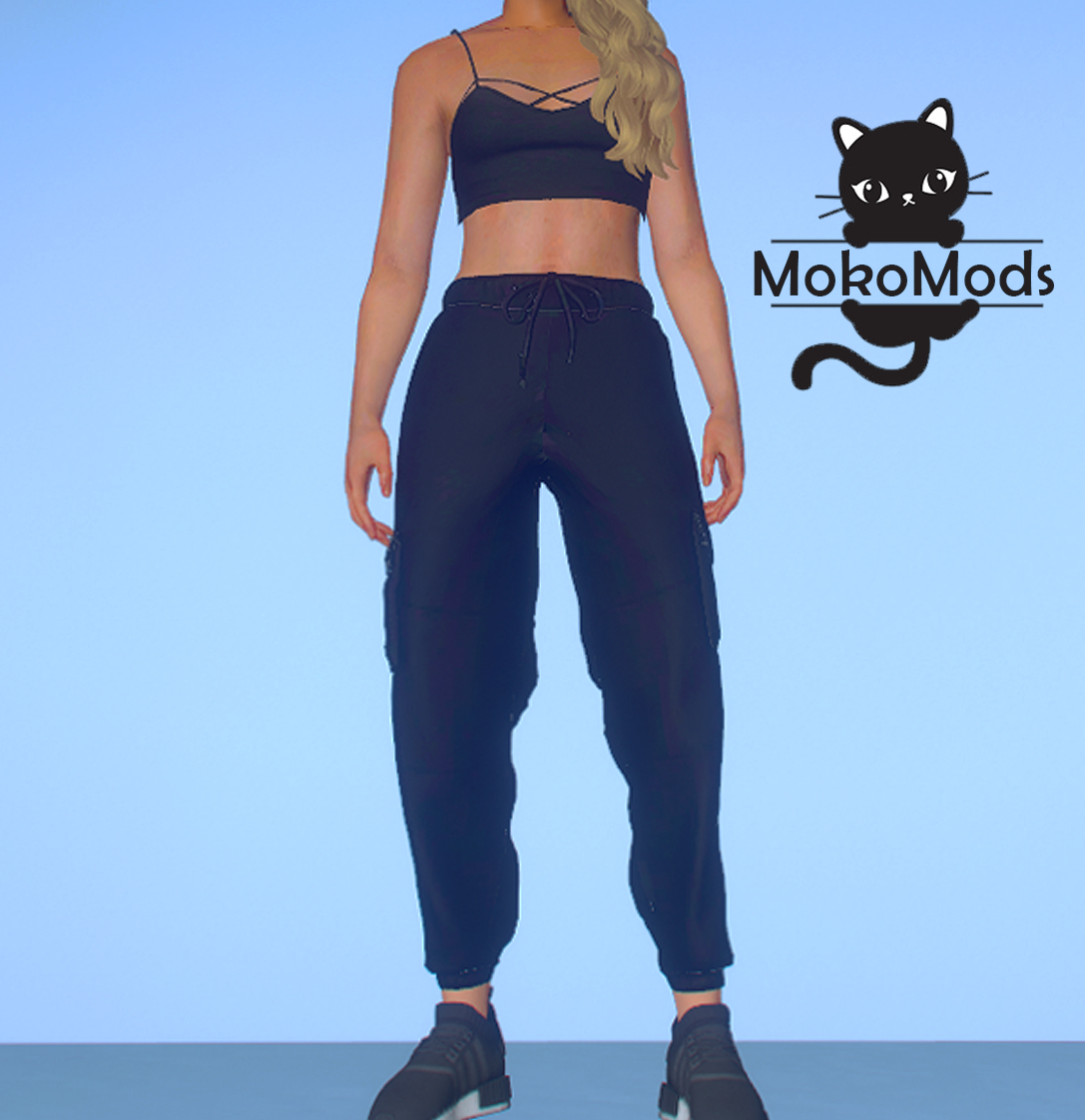 Cargo Joggers for MP Female 1.2