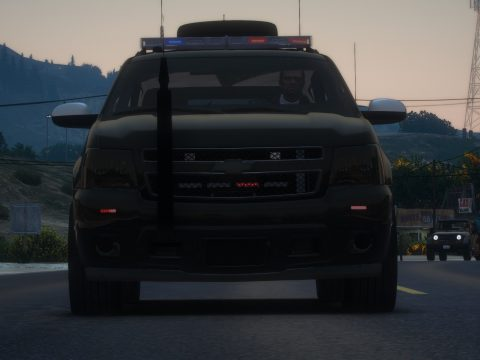 Chevrolet Tahoe Armored [Add-On | Template] 1.1