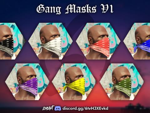 Colored Gang Masks for MP Male V1