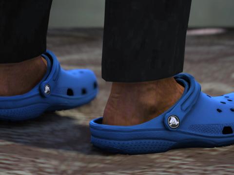 Crocs Clogs for MP Male & MP Female (FiveM & SP - unlocked) 1.0 optimized