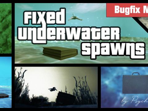Fixed Underwater Spawns 2.1