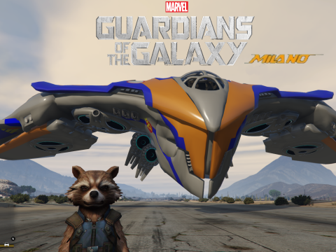 Guardians of the Galaxy Milano [Add-On] 0.2