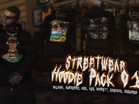 Hoodie Pack 01 for MP Male 1.0
