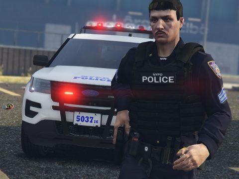 NYPD Realistic Vest Textures 1.0