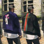 New Style BomberJacket (Gucci, Fendi, Louis Vuitton, Nike) [MP / FiveM Ready] V1
