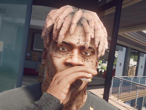 Overdone Face Tattoos for Franklin 2.0
