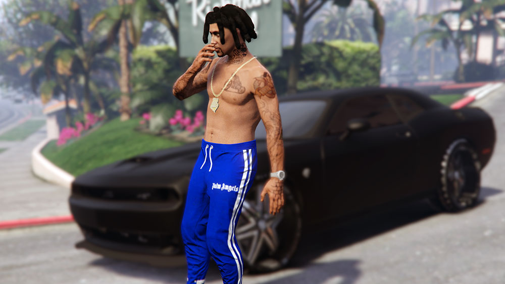 Palm Angels Joggers for MP Male 1.0