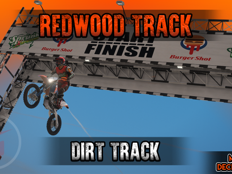 Redwood Track Dirt Track [FiveM / SP / YMAP] 1.0