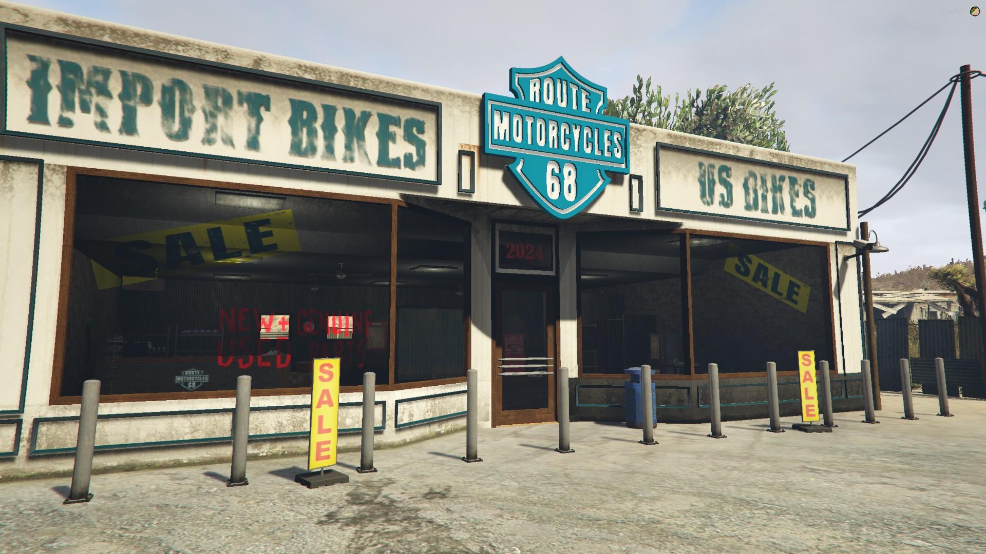 [MLO] Route 68 Bike dealer 1.0