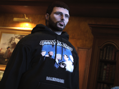 Slightly Oversized Hoodie Pack for MP