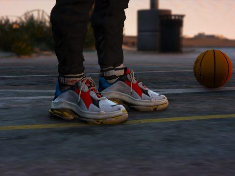 "Balenciaga® - ""Triple S"" Sneaker [Add-On | Replace] 1.0"