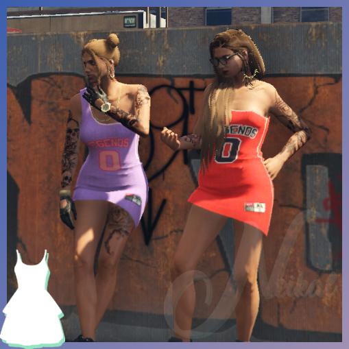 Sport Dress 2 for MP Female 1.0