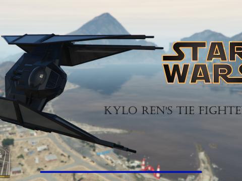 Star wars Kylo Rens TIE FIGHER [Add-On] 0.2