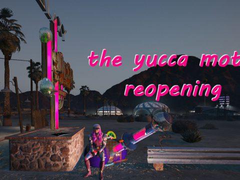 Yucca motel grand reopening [Menyoo] 1.0