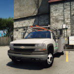 2001 Chevrolet Silverado 2500HD 'Utility' [Add-On / Replace | Animations | Extras]